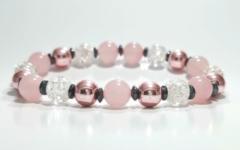 Kép 1/2 - Nőiesség fokozó,idegrendszer erősítő,lelki egyensúlyt biztosító ásvány karkötő